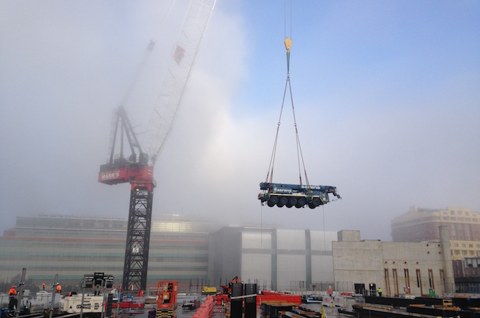 Certification Report after cranes inspection